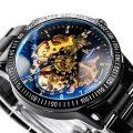 Alienwork-IK-mechanische-Automatik-Armbanduhr-mit-Edelstahlarmband-2
