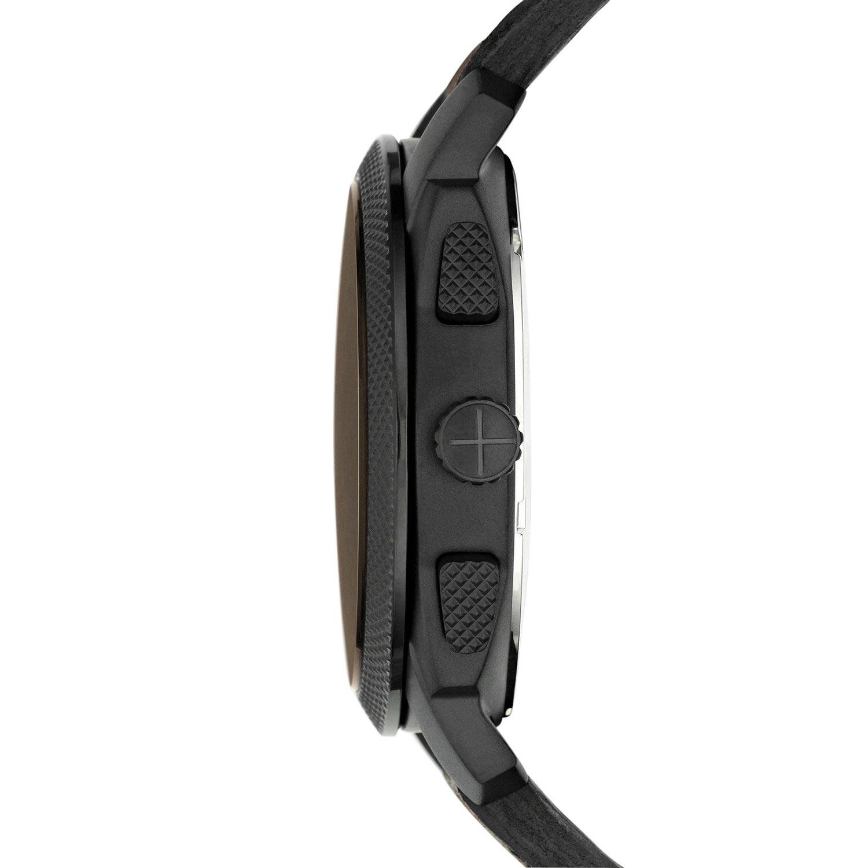 fossil herrenuhr fs4656 chronograph mit braunem lederarmband. Black Bedroom Furniture Sets. Home Design Ideas