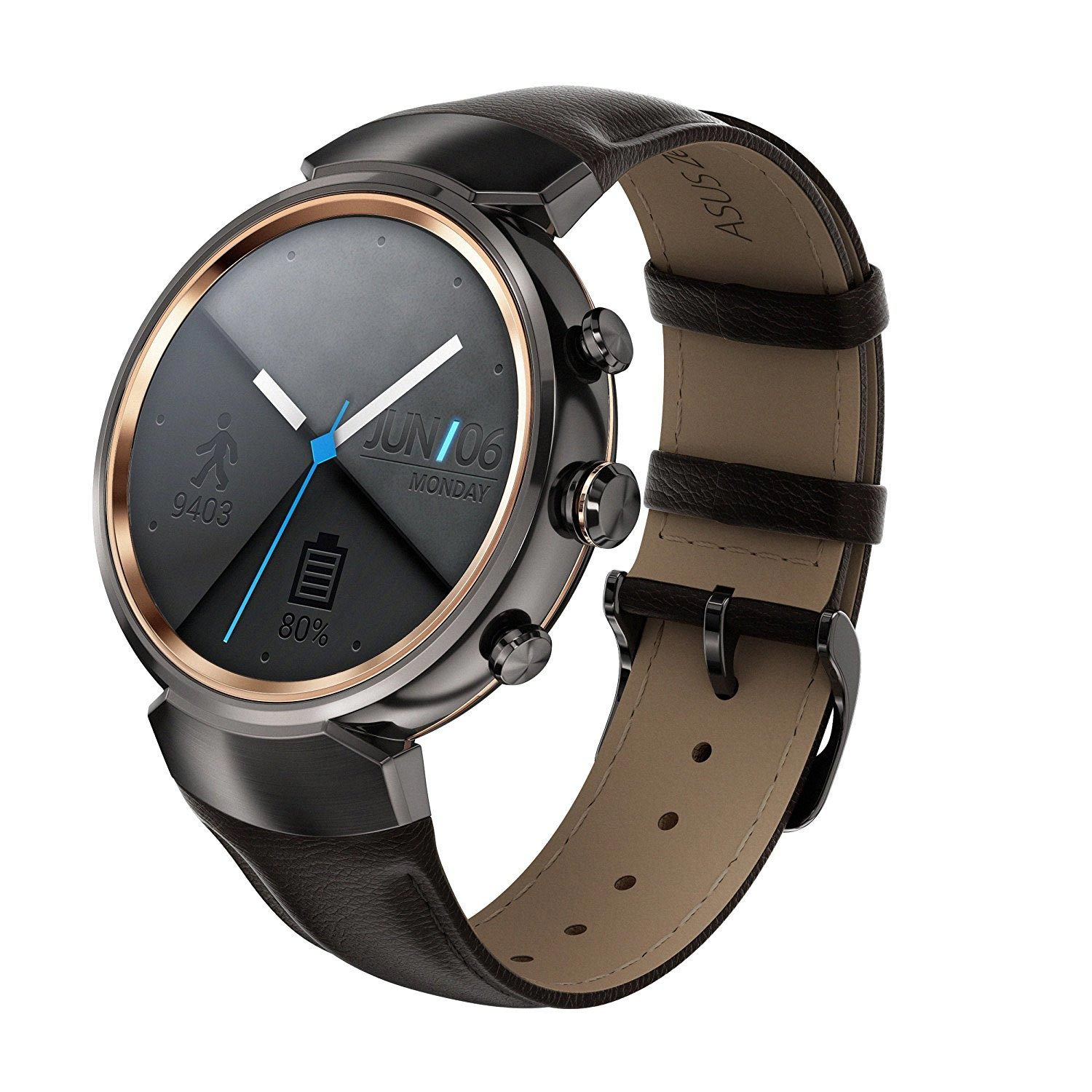 asus zenwatch 3 smartwatch mit andoidwear und multi touch. Black Bedroom Furniture Sets. Home Design Ideas