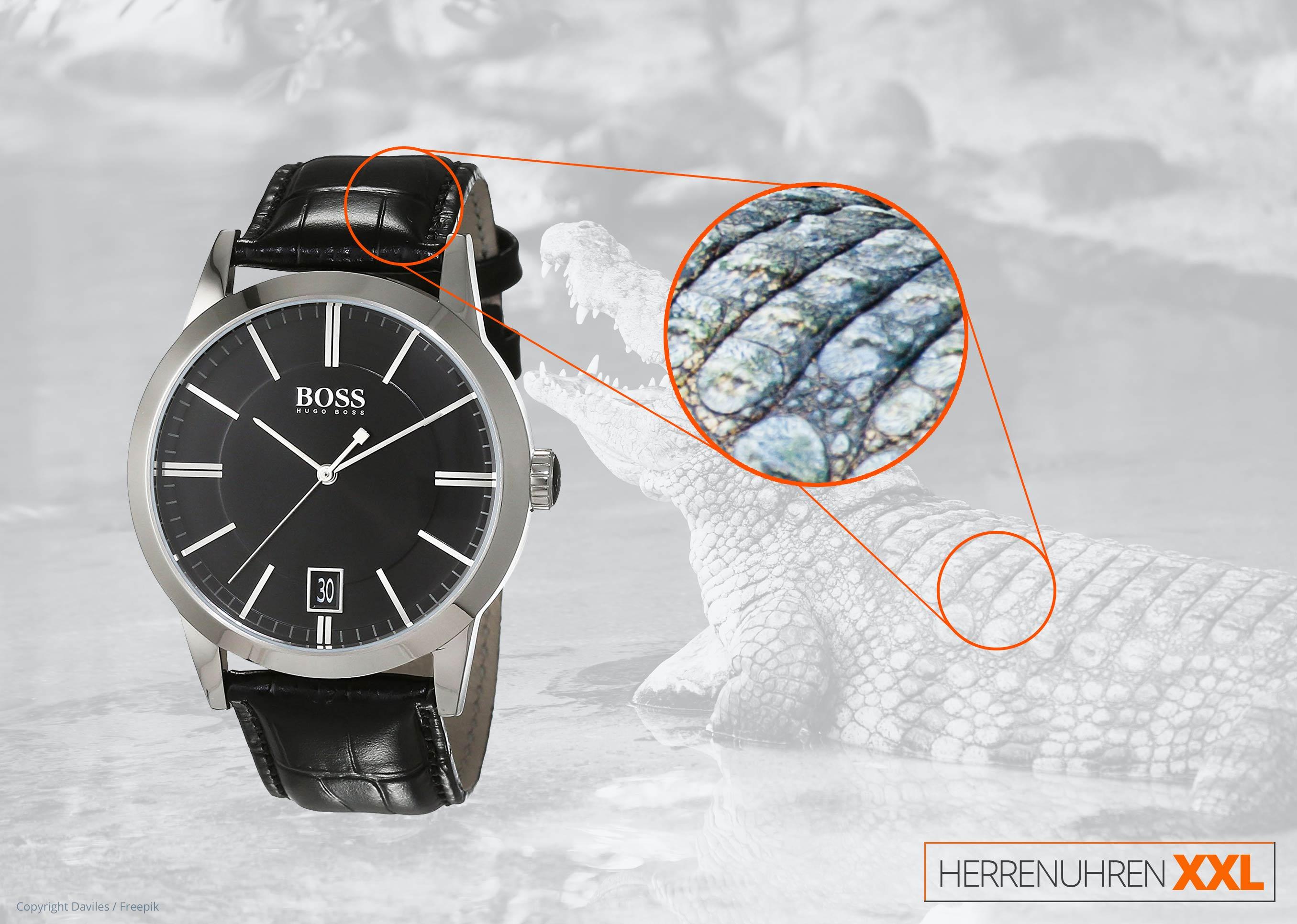 hugo boss 1513129 herren business uhr dresswatch schwarz. Black Bedroom Furniture Sets. Home Design Ideas