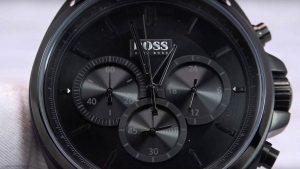 Boss-Chronograph-1513061-aus-Edelstahl-mit-Spezial-Beschichtung