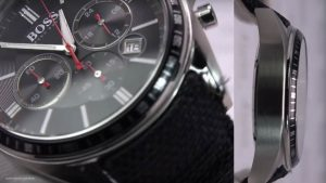 Boss-Driver-Sport-Chrono-1513087-mit-Tachymeter-Funktion