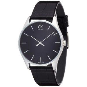 Calvin-Klein-Herren-Armbanduhr-Analoguhr-mit-Lederarmband-1