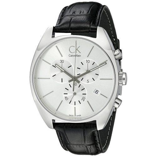 Calvin-Klein-Herren-Armbanduhr-Exchange-K2F27120-mit-Lederarmband-1