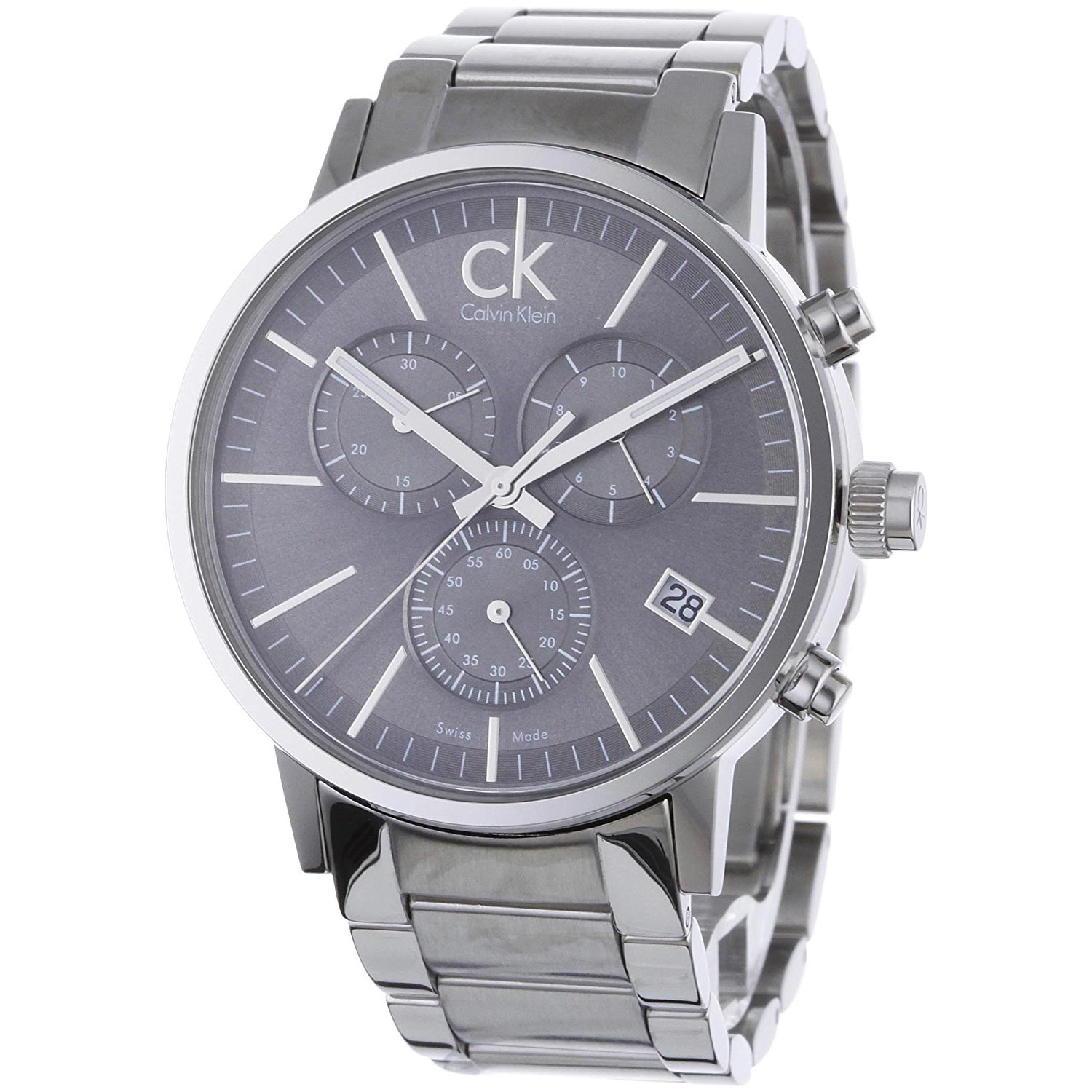 calvin klein herren armbanduhr postminimal chronograph. Black Bedroom Furniture Sets. Home Design Ideas