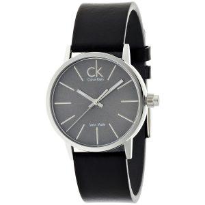 Calvin-Klein-Herren-Armbanduhr-Postminimal-mit-Lederarmband-1