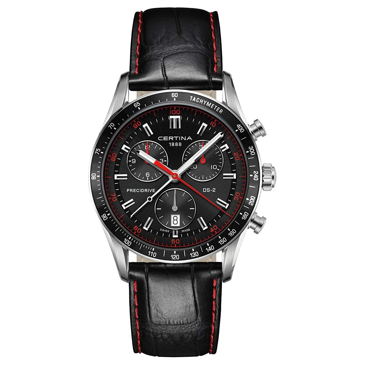 certina ds 2 precidrive chronograph m nneruhr mit chronometer pr zision. Black Bedroom Furniture Sets. Home Design Ideas