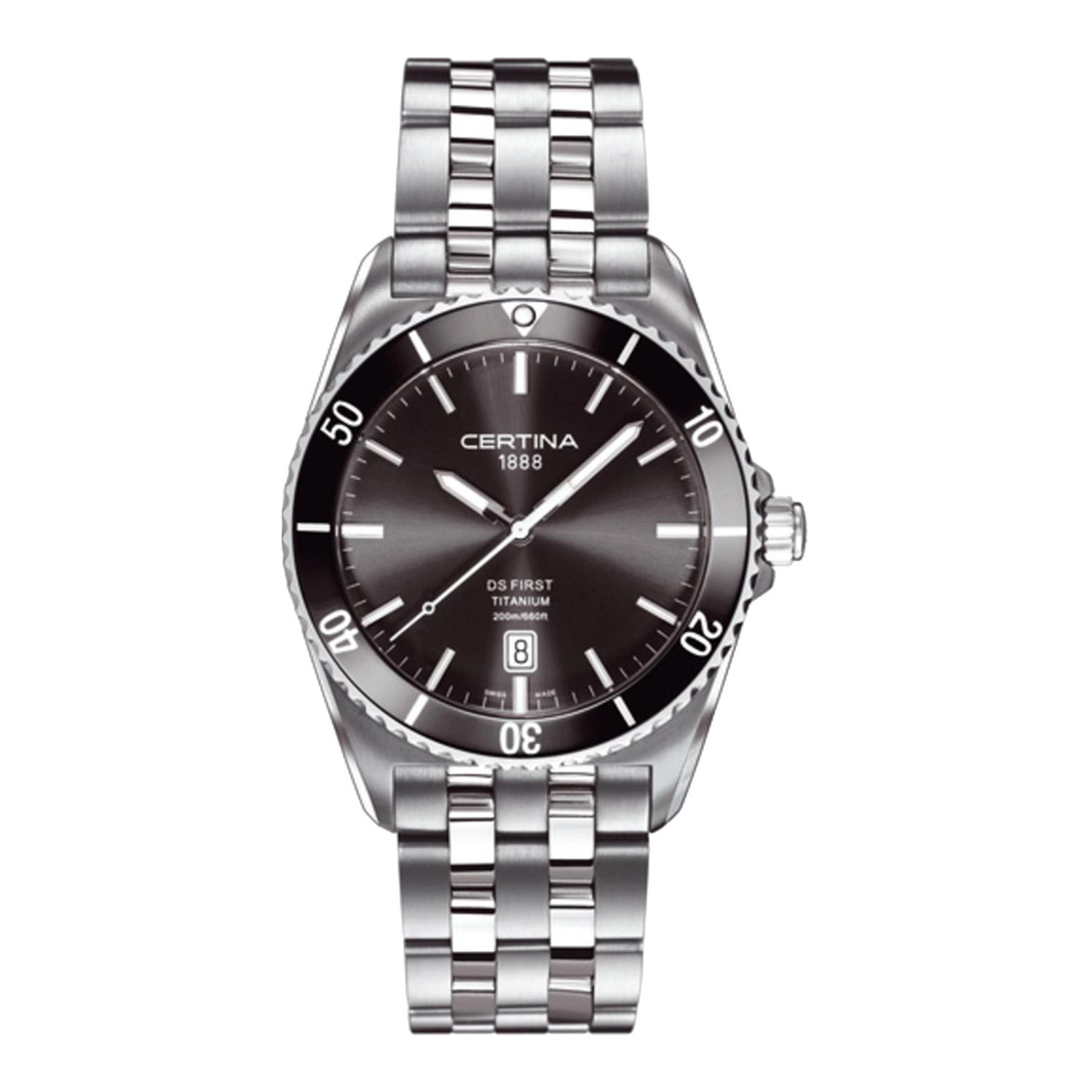 Certina-DS-First-Titanium-C014.410.44.081.00-analoge-Herrenuhr-aus-Titan-und-Keramik