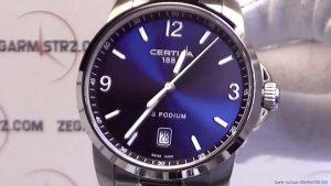 Certina-DS-Podium-Analoguhr-mit-Schweizer-Uhrwerk