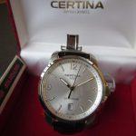 Certina-DS-Podium-kompakte-Quarzuhr-mit-Lederarmband