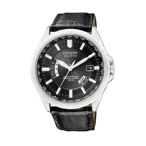 Citizen-Eco-Drive-Evolution-5-Funkuhr-CB0010-02E-analoge-Solar-Herrenuhr-mit-Weltzeitfunktion