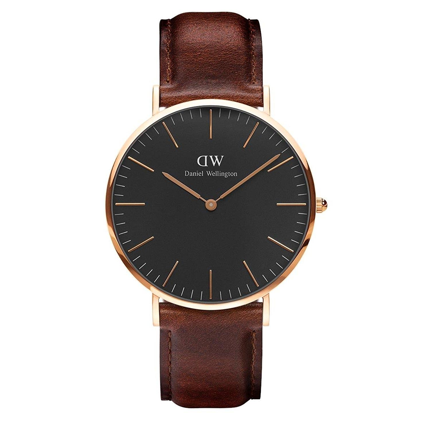 daniel wellington business uhr analoguhr f r m nner mit zertifikat. Black Bedroom Furniture Sets. Home Design Ideas