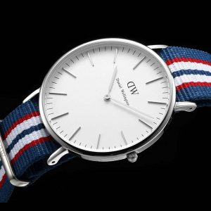 daniel wellington classic belfast 0213dw herrenuhr mit nato armband. Black Bedroom Furniture Sets. Home Design Ideas