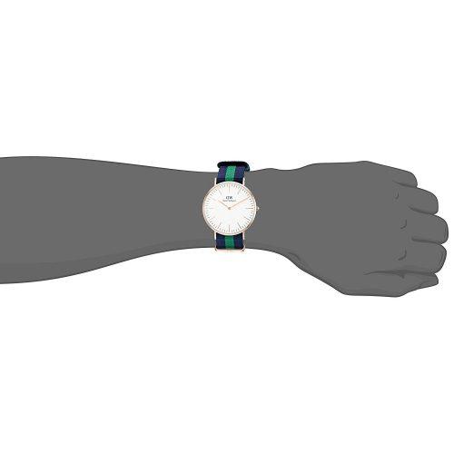 Daniel Wellington Glasgow Armbanduhr 0953DW Mit Blau