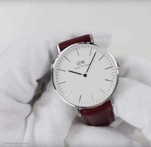 Daniel-Wellington-DW00100021-Armbanduhr-in-Weiss-Silber-und-Braun