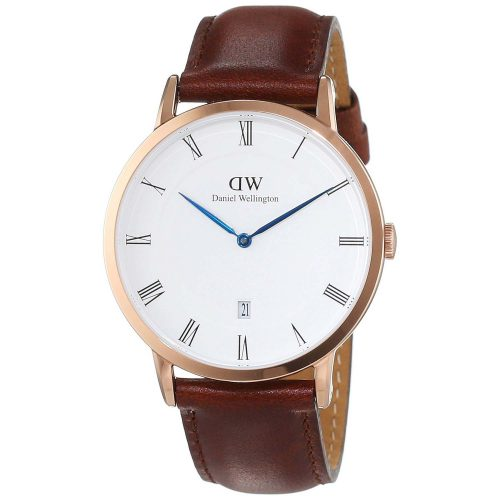 Daniel-Wellington-Dapper-St.-Mawes-Herrenuhr-DW00100083-in-rose-gold-mit-Lederarmband