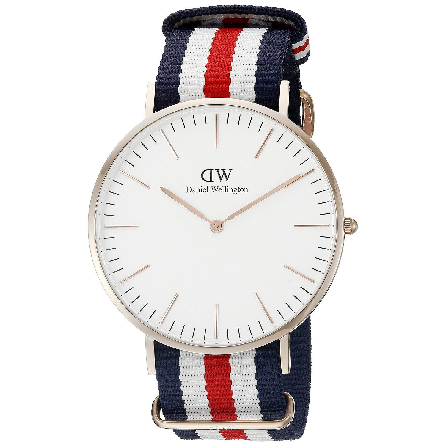 daniel wellington herrenuhr mit nato textilarmband. Black Bedroom Furniture Sets. Home Design Ideas