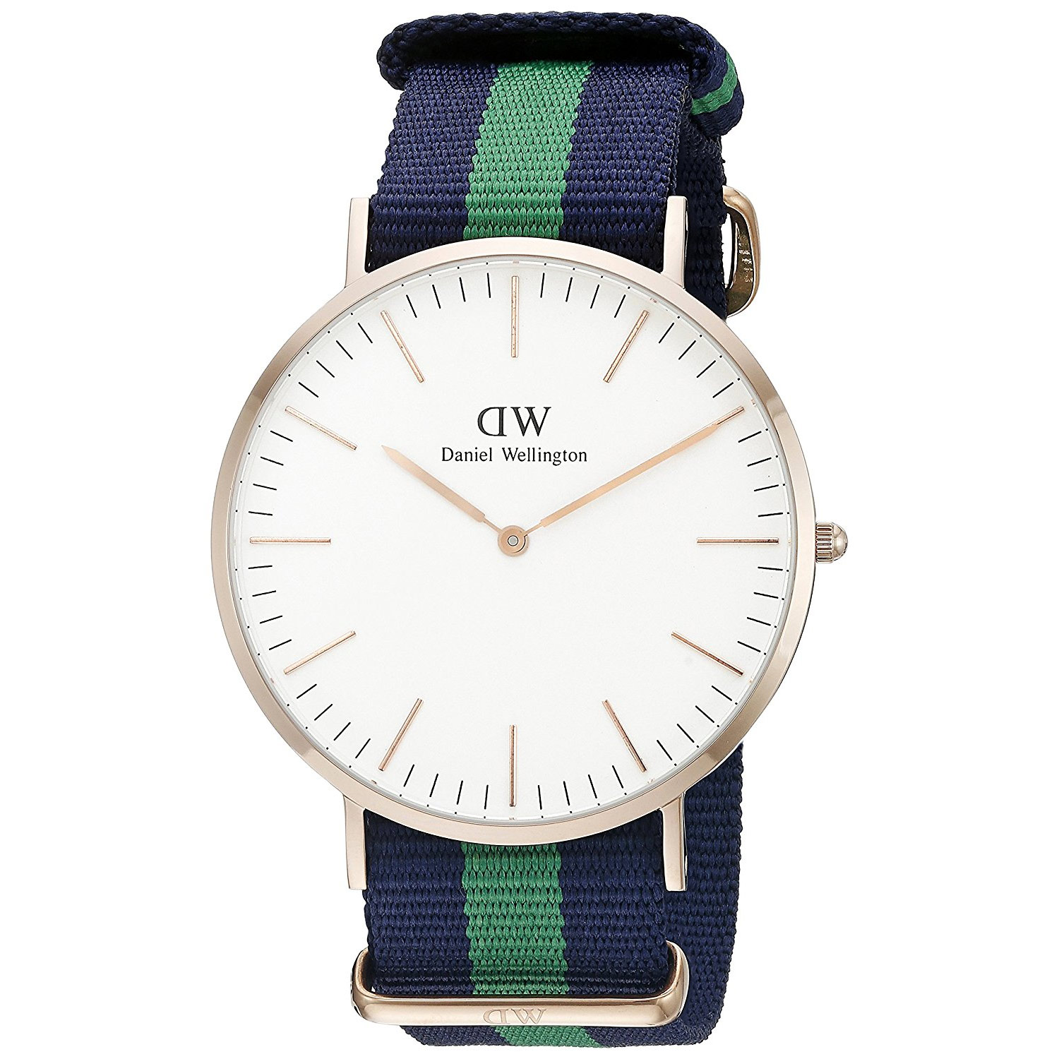 daniel wellington warwick dw00100005 uhr in ros gold mit natoarmband herrenuhren. Black Bedroom Furniture Sets. Home Design Ideas