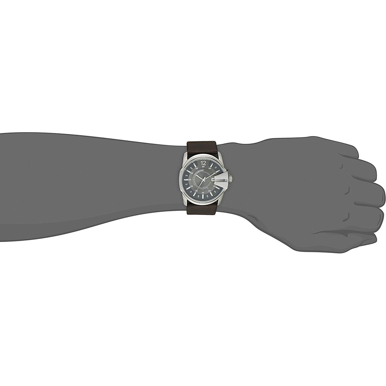 Lederarmband herren diesel  Diesel DZ1206 Business-Uhr für Herren - elegante Analoguhr mit ...