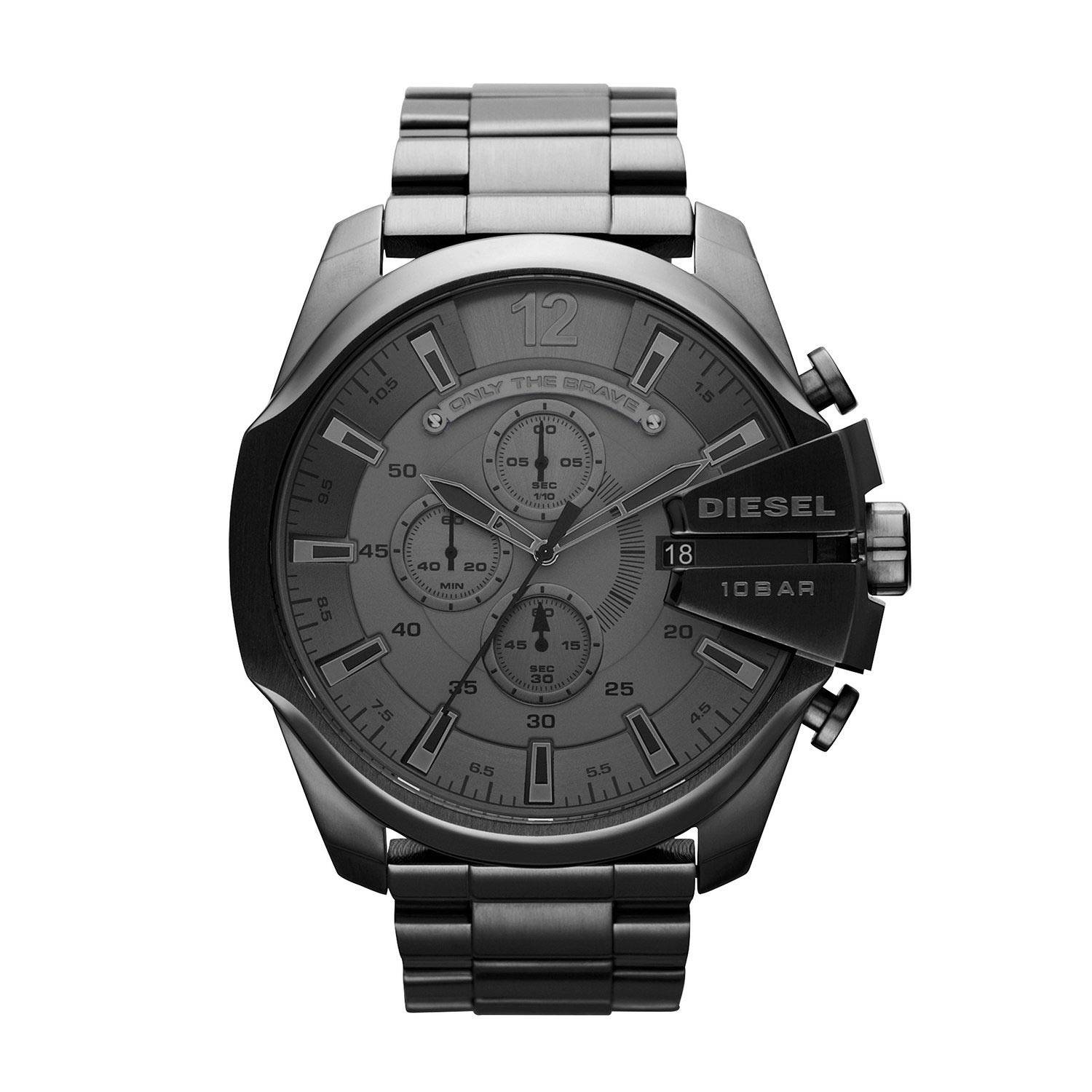 diesel dz4282 sport chronograph dunkelgraue m nneruhr aus edelstahl. Black Bedroom Furniture Sets. Home Design Ideas
