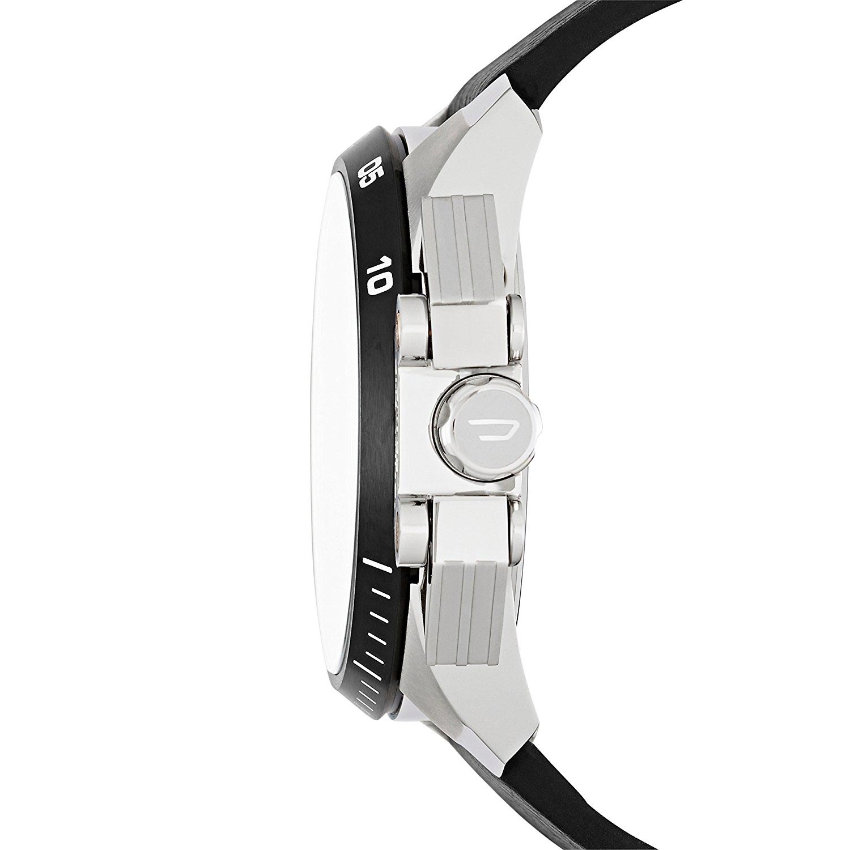 diesel dz4361 m nneruhr mit stoppuhr chronograph mit quarzwerk und lederarmband herrenuhren. Black Bedroom Furniture Sets. Home Design Ideas