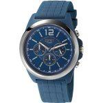 Esprit-Hayward-Herren-Chronograph-Armbanduhr-mit-Kautschukarmband-blau