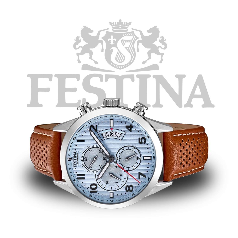 festina chronograph f20271 4 mit miyota quarzuhrwerk. Black Bedroom Furniture Sets. Home Design Ideas