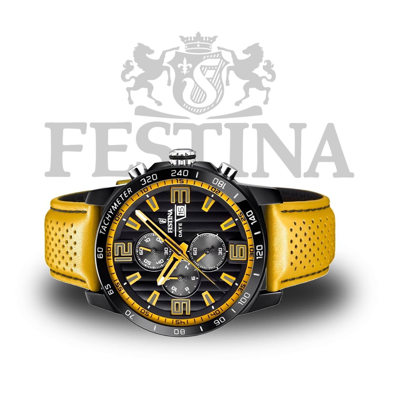 festina chronograph f20339 3 sportliche herrenuhr in. Black Bedroom Furniture Sets. Home Design Ideas