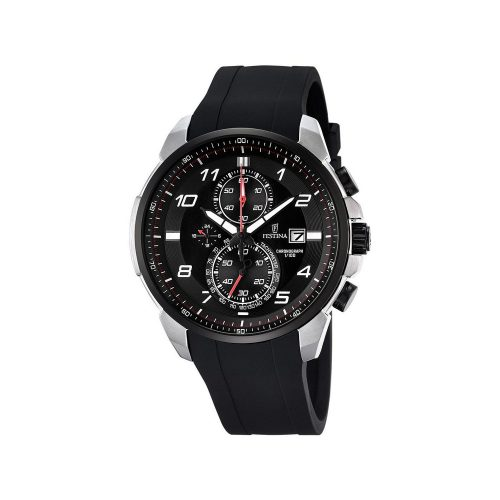 Festina-F6841-4-Sport-Chronograph-Maenner-mit-robustem-PU-Armband