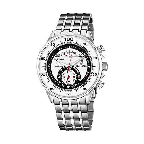 Festina-Herren-Armbanduhr-F6830-1-in-Weiß-Schwarz