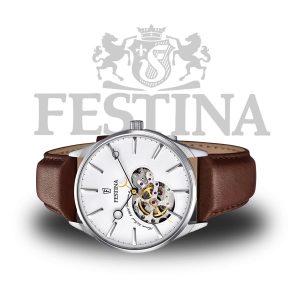 Festina-Herren-Armbanduhr-F6846-1-Automatik-Uhr