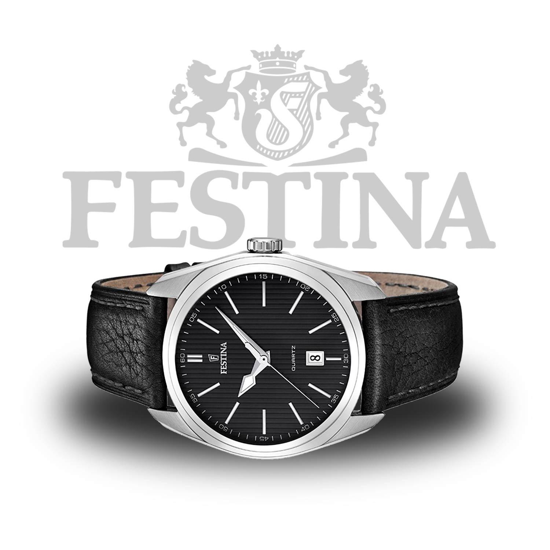 festina herrenuhr f16777 4 schwarze dresswatch zum. Black Bedroom Furniture Sets. Home Design Ideas