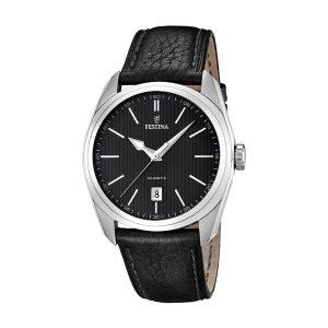 Festina-Herrenuhr-F16777-4-schwarze-Dresswatch-zum-guenstigen-Preis