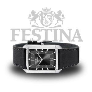 Festina-Herrenuhr-F6748-3-schwarz-silber