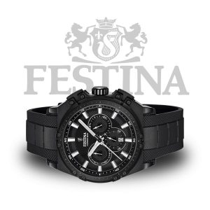 Festina-Tourchrono-F16971-1-schwarze-Herrenuhr-Sportuhr