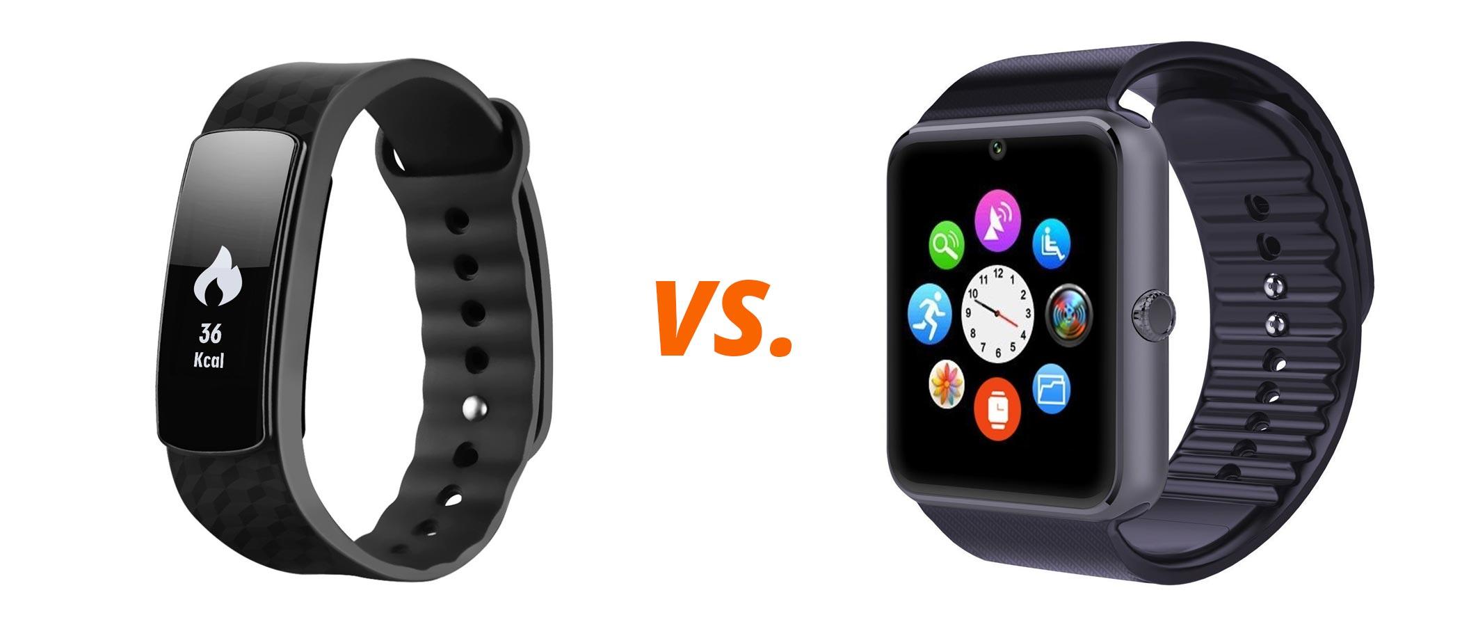 Fitnessarmband-vs.-Smartwatch