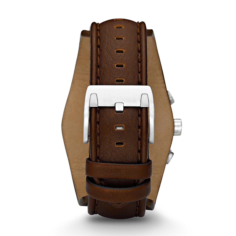 fossil herrenuhr ch2565 braun weisser herrenchronograph. Black Bedroom Furniture Sets. Home Design Ideas