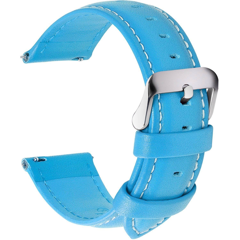 Fullmosa-Uhrenarmband-aus-echtem-Leder-in-hellblau-22-mm-breit-mit-Dornschliesse-aus-Edelstahl