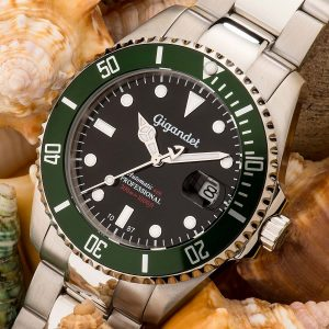 Gigandet-G2-005-Sea-Ground-Herren-Taucheruhr-in-Schwarz-Gruen-Silber
