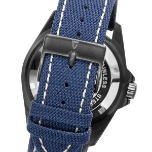 Gigandet-G2-022-Sea-Ground-Herrenuhr-mit-blauem-Textilband-in-Jeans-Optik