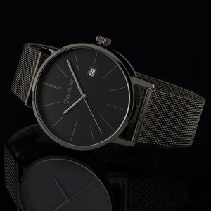 Gigandet-G42-007-Minimalism-schwarze-Herrenuhr