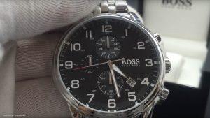 Hugo-Boss-1512446-sportlicher-Herren-Chronograph-in-Silber-Schwarz