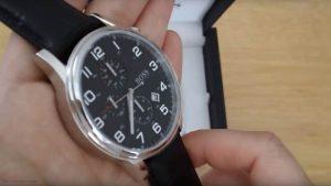 Hugo-Boss-1512448-Herrenuhr-mit-Rindsleder-Armband