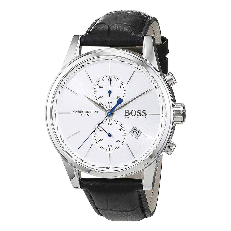 Hugo-Boss-1513282-Herren-Armbanduhr-perfekte-Dresswatch-mit-Chronographen-Funktion