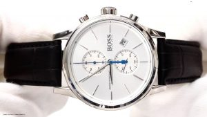 Hugo-Boss-1513282-Herrenuhr-mit-cleanem-stilvollen-Design