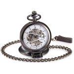 Kronen-und-Soehne-Taschenuhr-KS-KSP064-mit-mechanischem-Uhrwerk