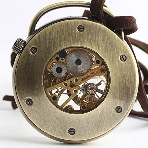Mechanische-Taschenuhr-mechanisches-Uhrwerk