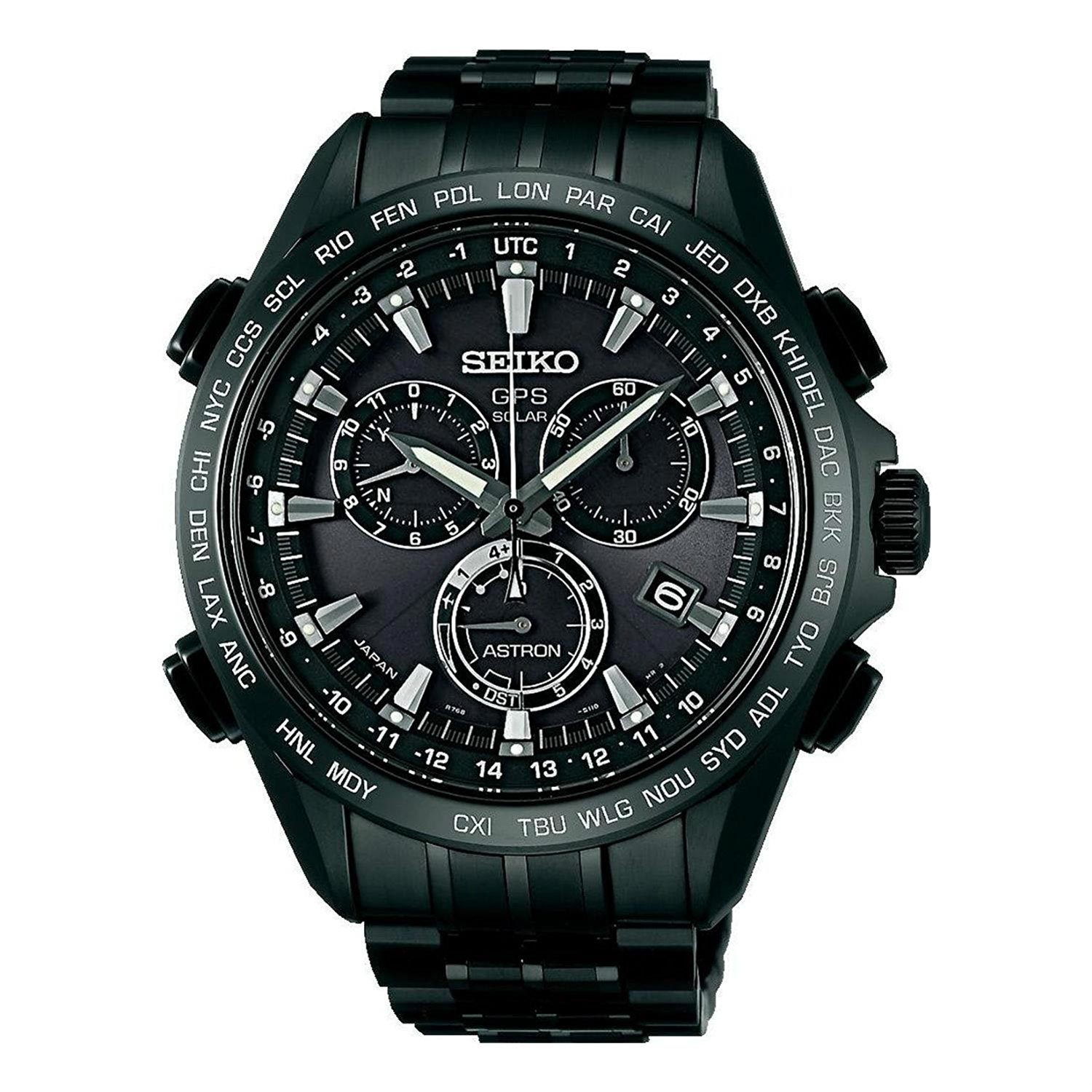 seiko astron gps solar der luxus chronograph mit titan. Black Bedroom Furniture Sets. Home Design Ideas