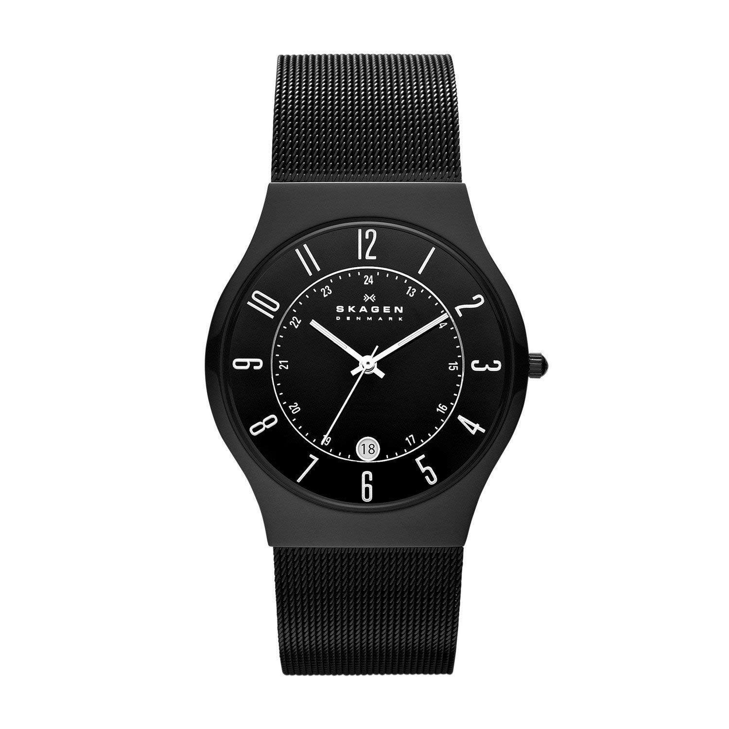 skagen 233xltmb grenen titanuhr slimline herrenuhr in. Black Bedroom Furniture Sets. Home Design Ideas