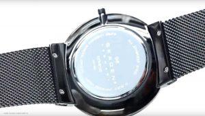 Skagen-Herrenuhr-SKW6108-mit-silbernem-Metall-Mesh-Armband